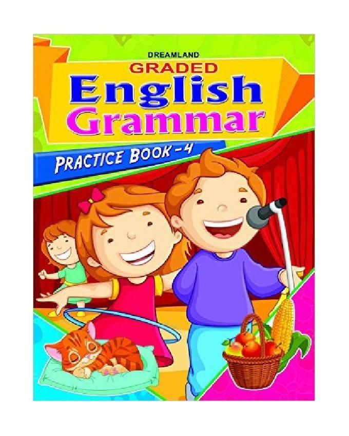 Graded English Grammar Practice Book-4