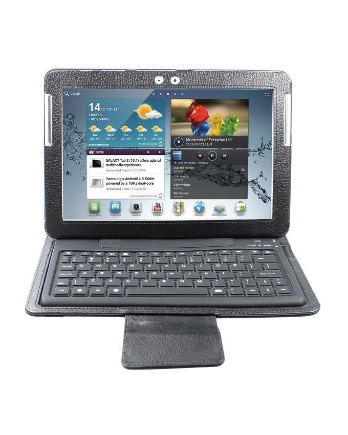 Bluetooth Keyboard For Samsung Galaxy Tab 2 10.1 - Black