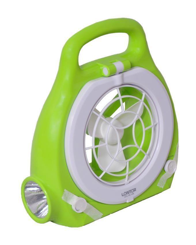 Multipurpose Rechargeable Lamp & Fan