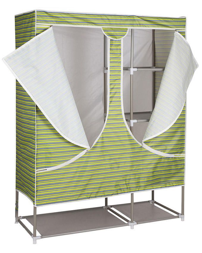 Pattern Mobile Wardrobe Closet - Green