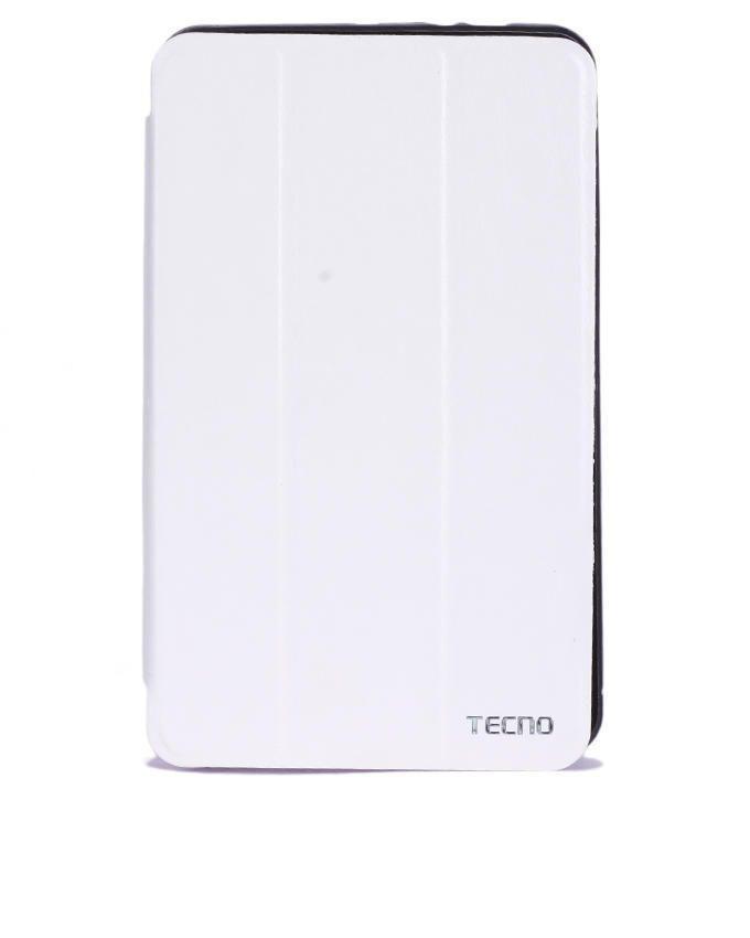 Tecno P9 Flip Case - White