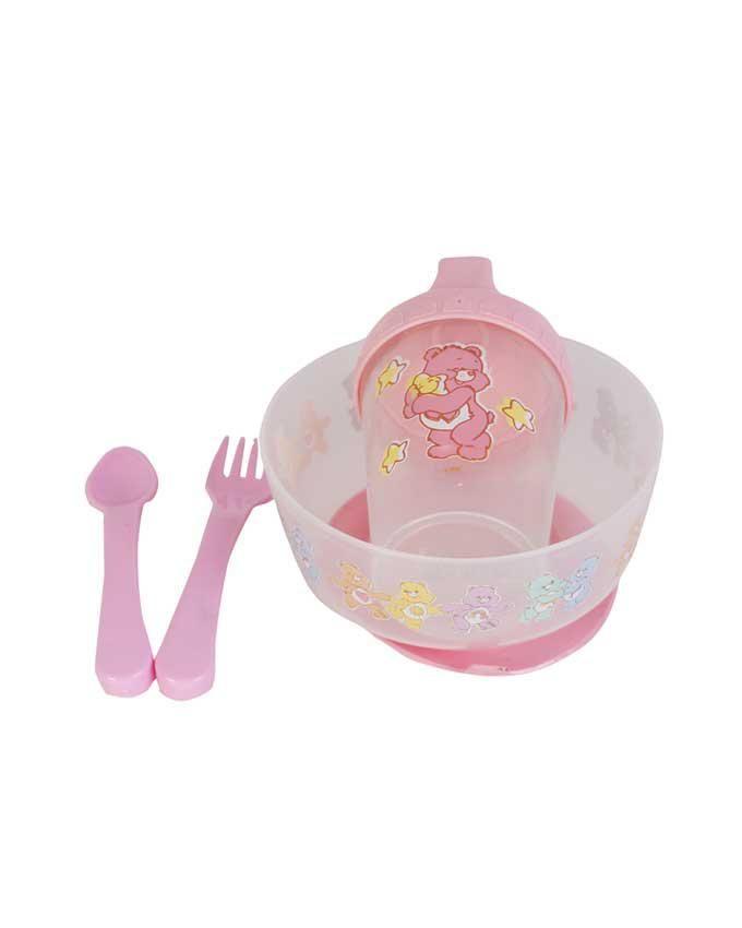 Suction Bowl Set - Pink