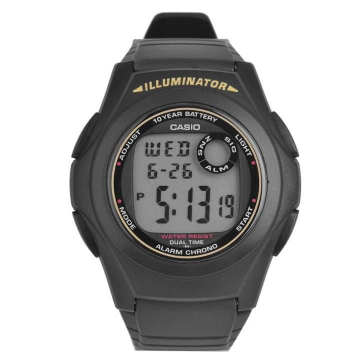Gents' Sport Digital Watch F-200W-9ADF - Black
