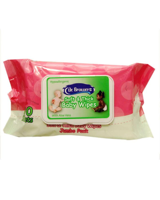 Soft & Thick Baby Wipes - 100 Sheets
