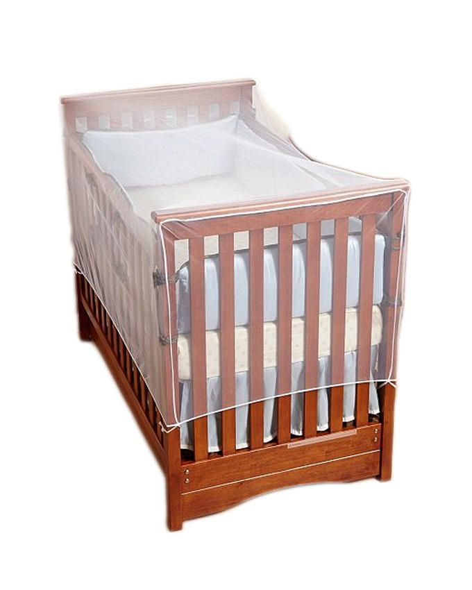 Cot Bed Insect Net - White