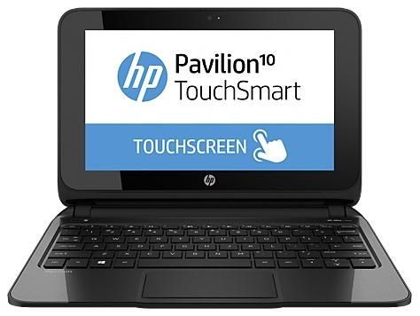 Pavilion 10 TouchSmart 10-e011ea AMD Dual Core-1GHz (2GB,500GB HDD) 10.1-Inch Windows 8 Netbook