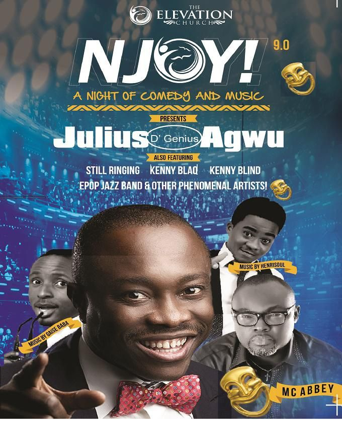 NJOY 9.0 with Julius Agwu - 2 DVDs (a nite of Lafta, Music and Comedy)