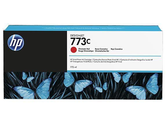 773C 775-ml Chromatic Red DesignJet Ink Cartridge - C1Q38A