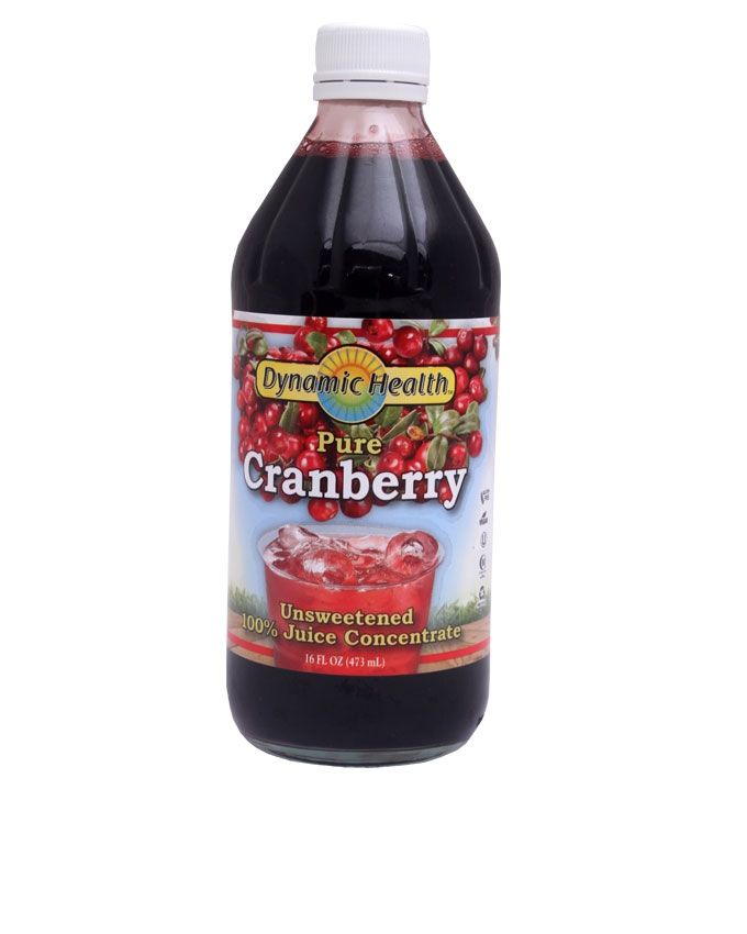 Pure Cranberry Juice Concentrate - Red