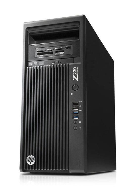 Z230 Intel Core i7-3.4GHz (8GB,500GB HDD) Windows 7 Pro Business Small Form Factor WorkStation