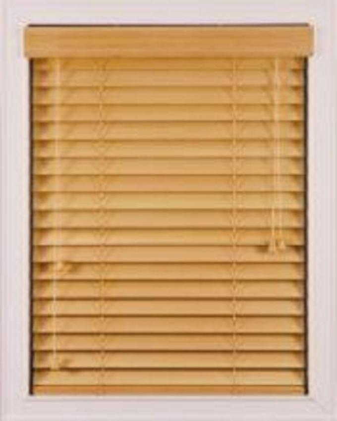 Wooden 50mm Hardwood Venetian Blinds,Golden Oak