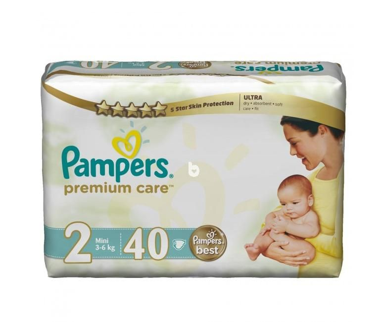 Pampers Premium Economy Pack Size 2 (40 Pieces)