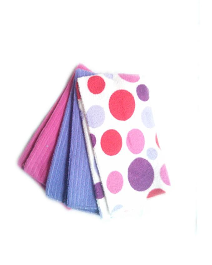 3pcs Microfibre Kitchen Towels - Multicolour