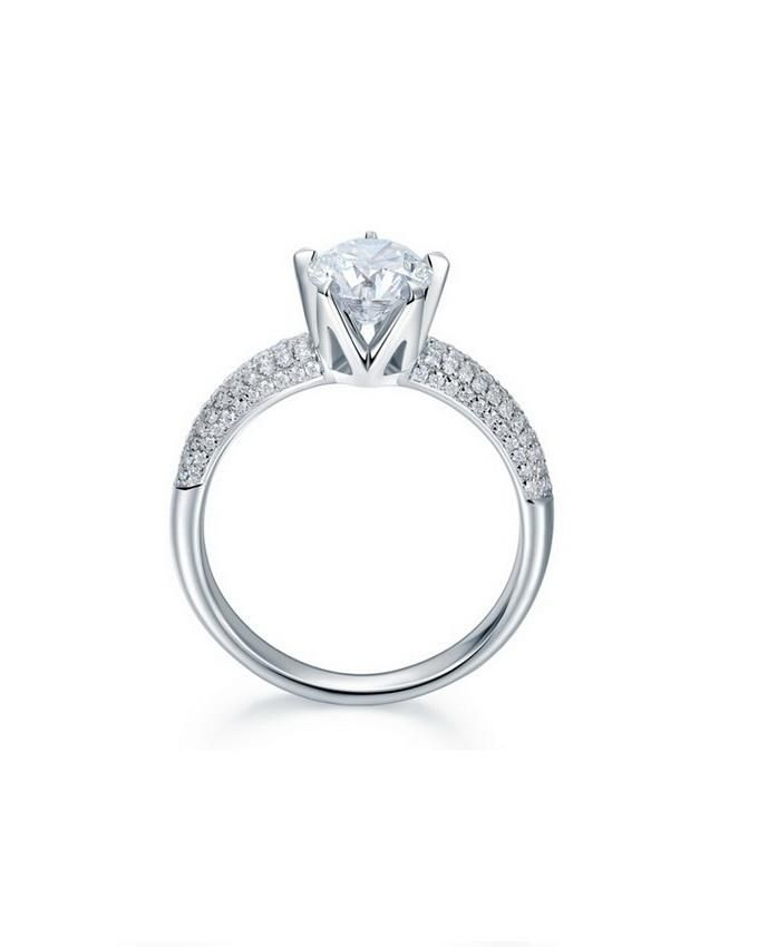 cynosure 925 sterling silver engagement ring buy