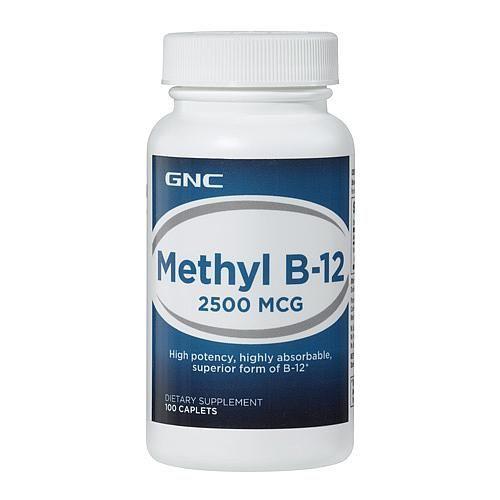 Methyl B-12 2500MCG - 100 Caplets