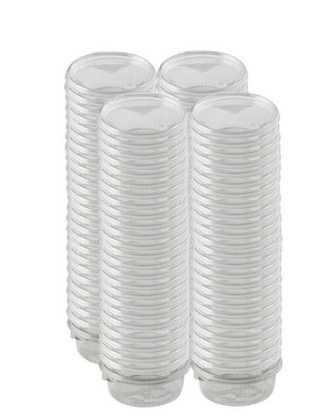 Salad - Plastic Takeaway Plates - 100pcs