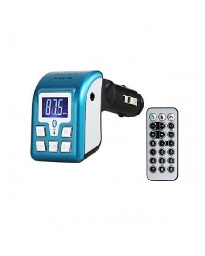 Car Mp3 Player & Phone Call Receiver - Blue
