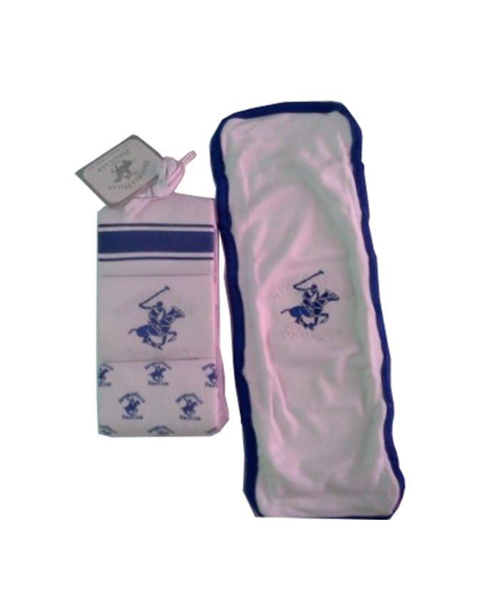 Burp Cloth - Navy Blue -  3 pack