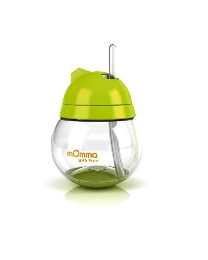 BPA Free Straw Cup- Green