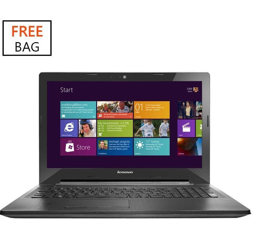 G50-30 Intel Celeron Dual Core (2GB, 500GB HDD) 15.6-Inch Windows 8 Laptop + Free Bag