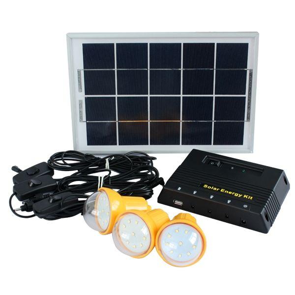 Solar Home Lighting: BTS Energy Solar Home Lighting System BTS-902
