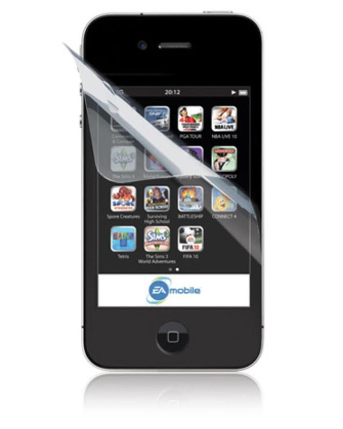 iPhone 4/4S Clear Screen Protector
