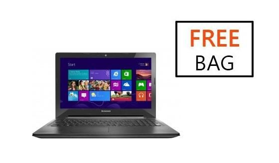 G50-30 Intel Pentium Quad Core-2GHz (4GB,500GB HDD) 15.6-Inch Windows 8.1 Laptop With Bag<br />