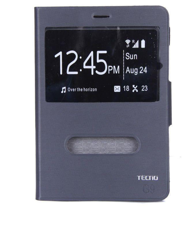7.8-Inch Flip Case for Tecno Tab 2 - Black