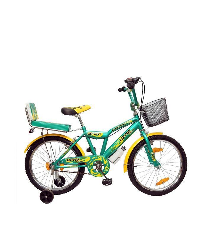 Kids  20'' Bicycle - Green