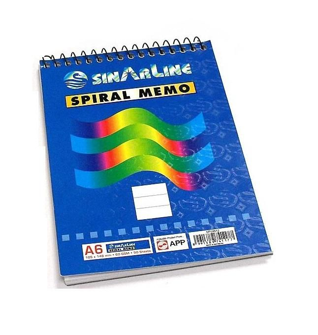 A7 Top Spiral Memo with Display Box - SP03511
