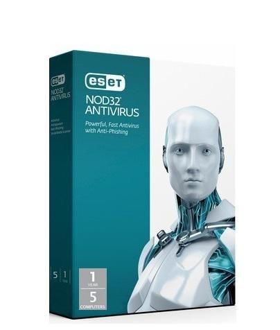 NOD32 Antivirus - 5 Users