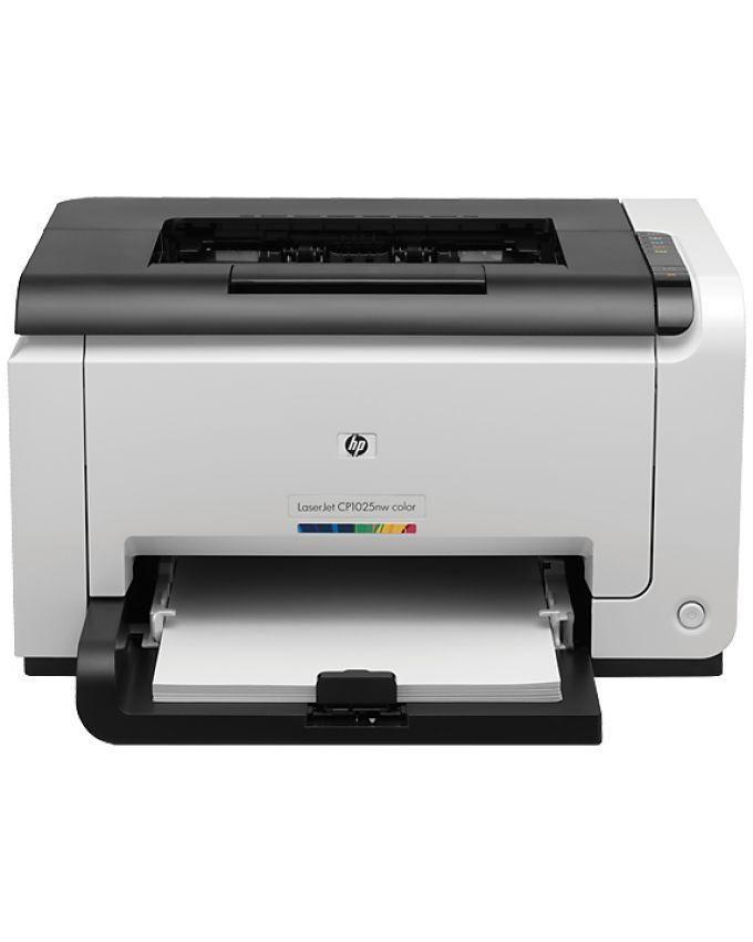 Colour LaserJet Pro CP1025 Printer - White
