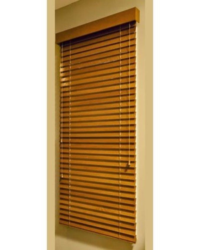 FM Wooden Window Blinds Light Brown Lagos Only Buy