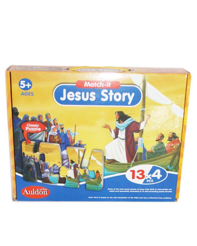 Jesus Stories Puzzles - Multi