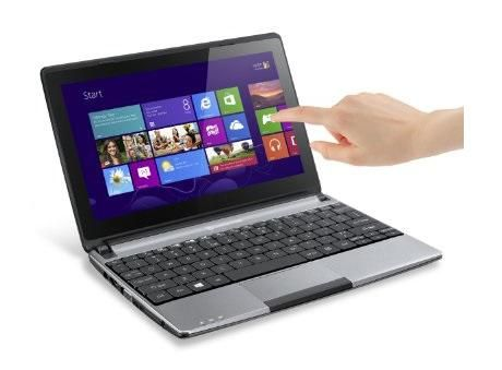 Packard Bell EasyNote ENME69BMP Intel Celeron (2GB,500GB HDD) 10.1-Inch Touchscreen Windows 8 Netbook