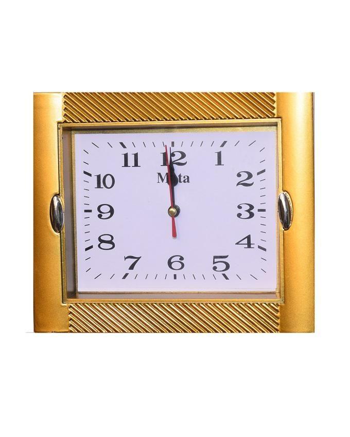 Mini Wall Clock - Gold