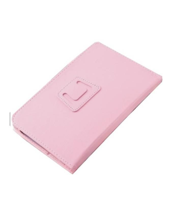8 Inches Tablet Leather Case - Pink