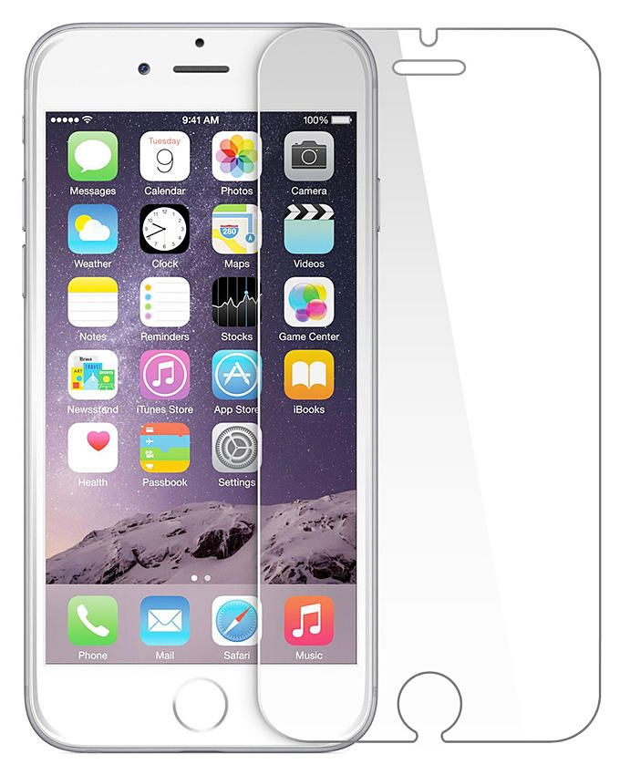 """Tempered Glass Screen Protector For iPhone 6 - 4.7"""""""