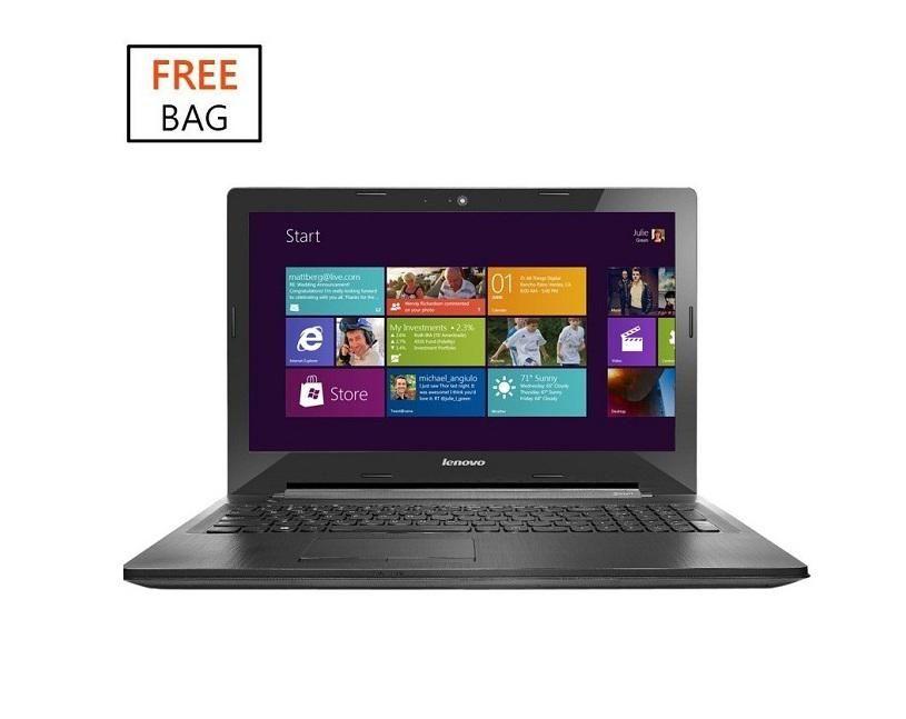 G50-30 Intel Pentium Quad Core (4GB,500GB HDD) 15.6-Inch Windows 8 Laptop + Free Bag