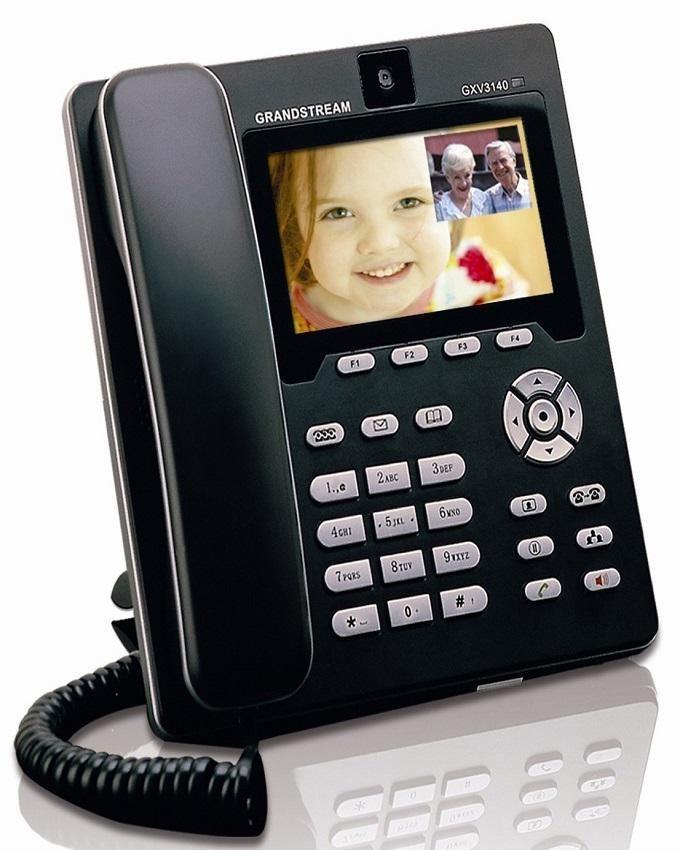 GXV3140 Land Line Phone- Black