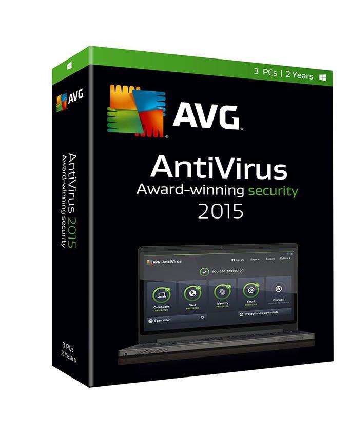 AVG Antivirus 4 Users 1 Year License