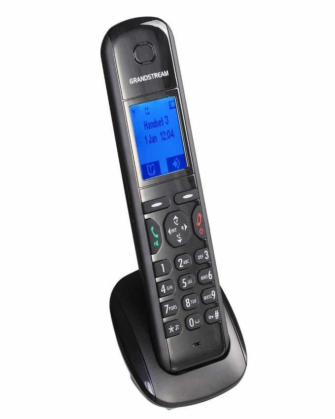 Cordless Desk Phone DP710 - Black