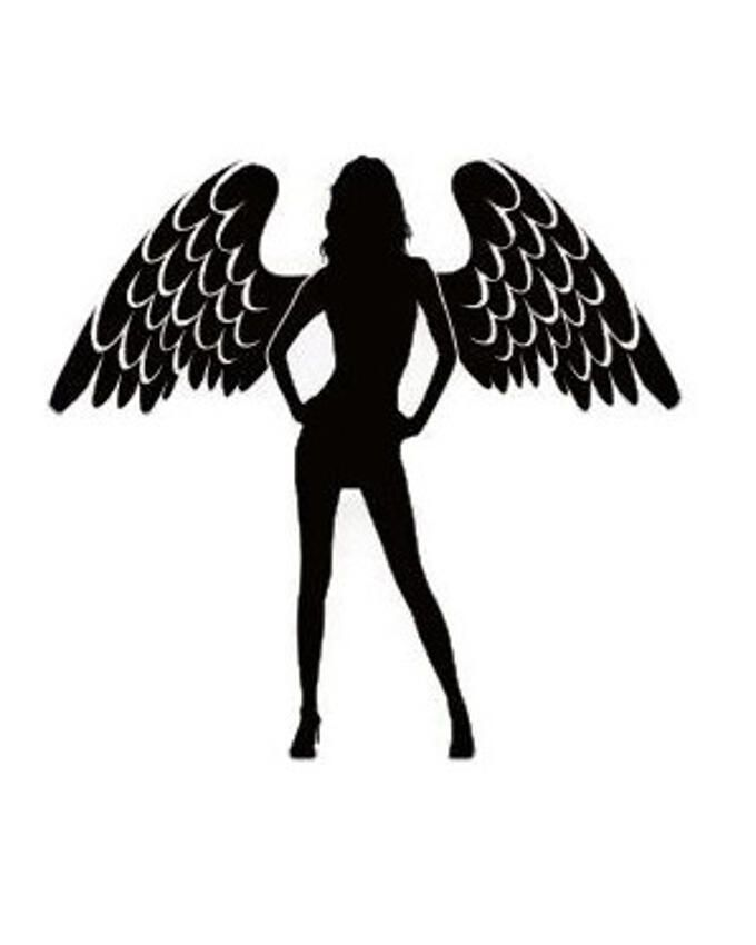Pretty Wings Decal