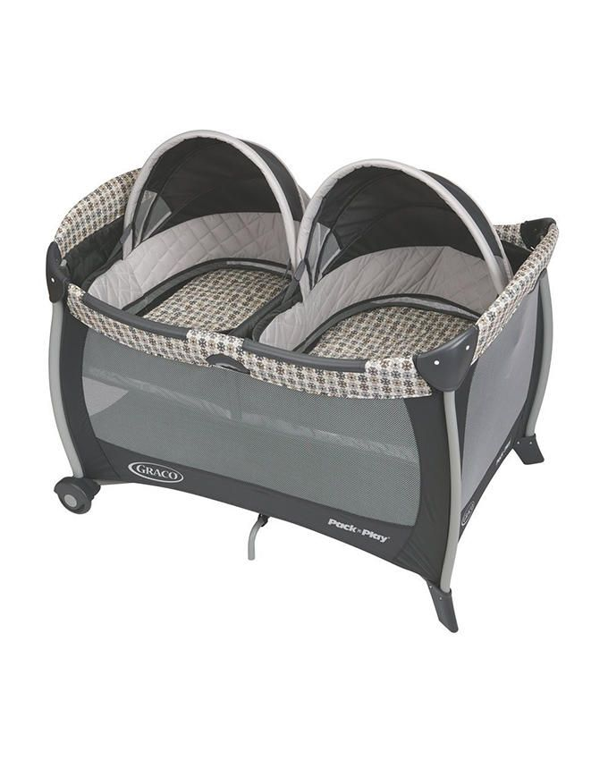Pack 'N Play with Twins Bassinet- Vance Collection
