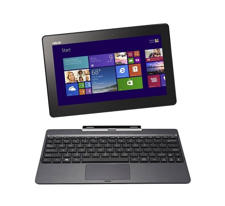 Transformer Book T100TAF-BING-DK001B Intel Baytrail (1GB,32GB EMMC) 10.1-Inch Windows 8 Netbook - Grey