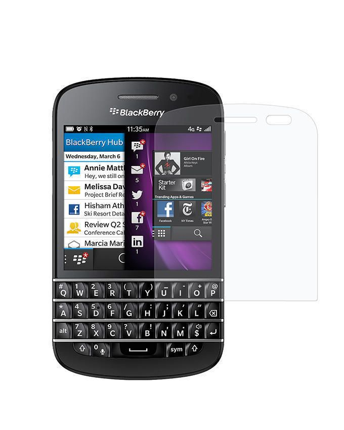 Tempered Glass Screen Protector For Blackberry Q10