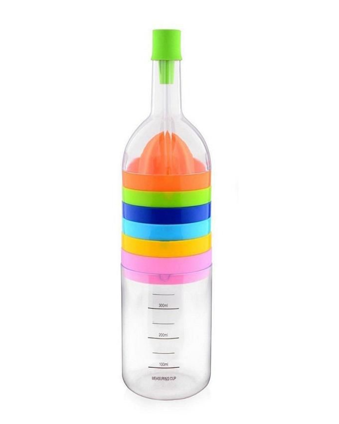 Kitchen Tool Set Bottle Shaped 8-in-1 - Multicolour