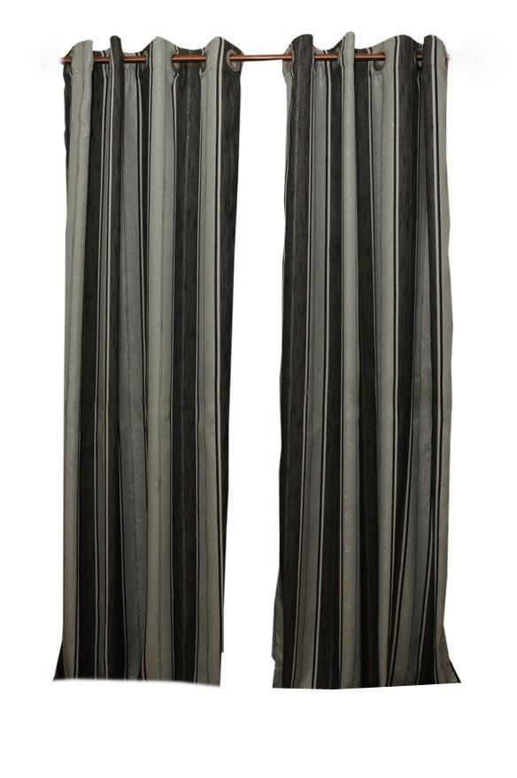 Floyd Eyelet Curtains - Grey