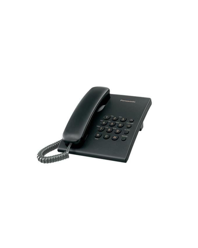 Integrated Corded Land Phone-Black