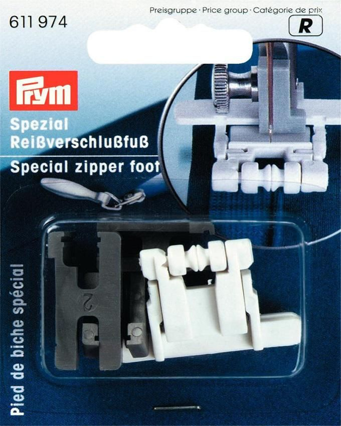 Zipper Foot For Invisible Zips